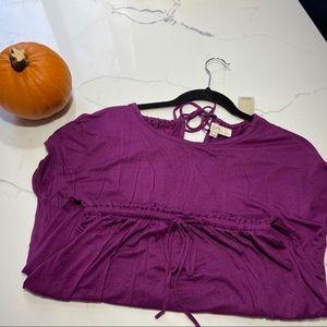 LOFT Dresses - NWT Size XSP Purple Loft Dress